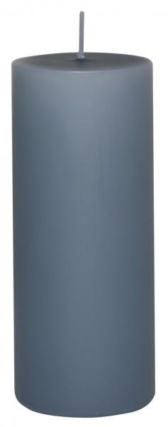 IB Laursen Stumpenkerze Ø 6 cm H:15 cm Taubenblau