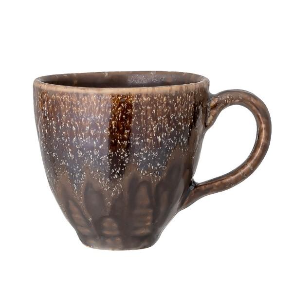 Bloomingville Espresso Tasse Willow braun Steingut 100 ml