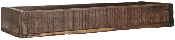 Ib Laursen Holzkiste mit Metallbeschlag UNIKA