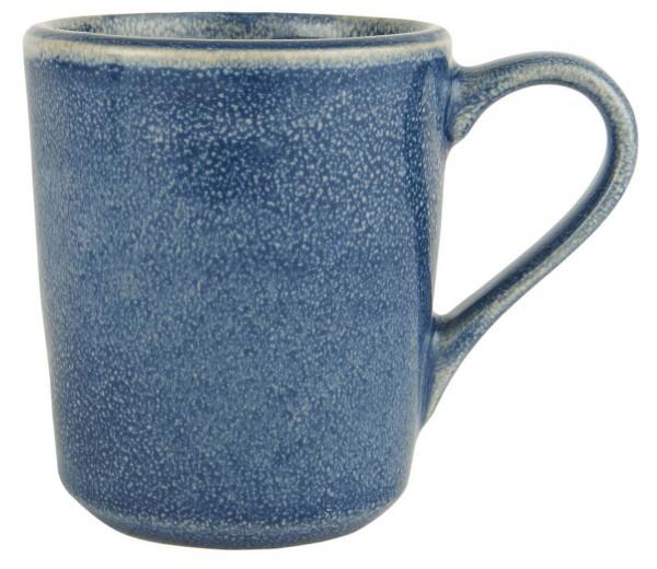 steingut tasse blau ib laursen