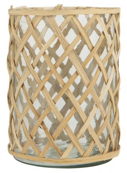 Ib Laursen Teelicht mit Bambus klein
