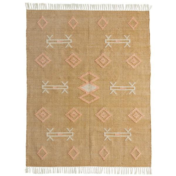 Madam Stoltz Teppich handgewebt Baumwolle 120x180 cm