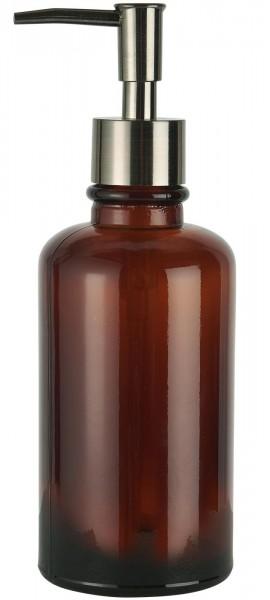 IB Laursen Seifenspender braunes Glas