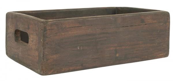 Ib Laursen UNIKA Kiste Holz mit Griffen