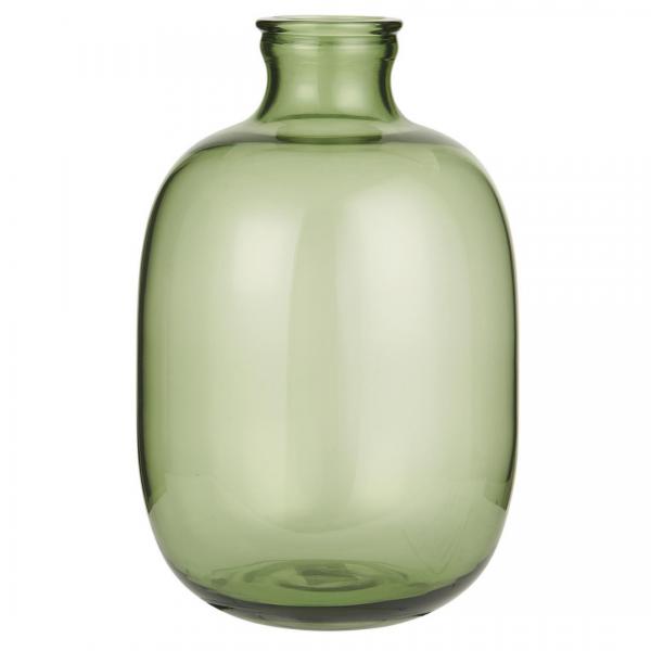 IB Laursen Glasballon grün mundgeblasen