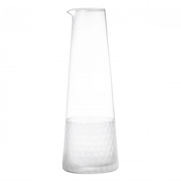 Bloomingville Glas-Karaffe klares & geschliffenes Glas