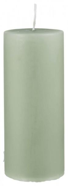 IB Laursen Stumpenkerze Ø 6 cm H:15 cm antikgrün