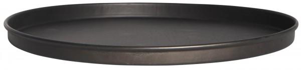 Ib Laursen Kerzentablett schwarz Ø 22 cm