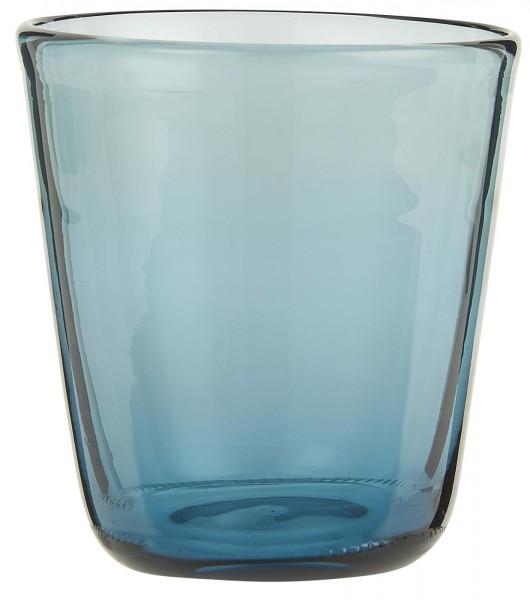IB Laursen Trinkglas blau