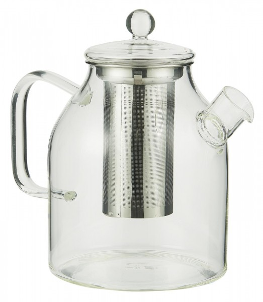 IB Laursen Teekanne mit Sieb Glas