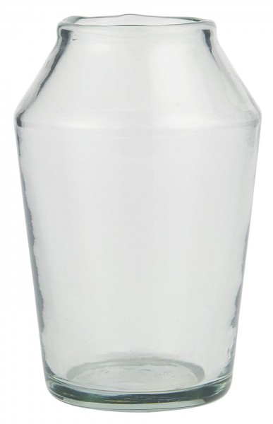 IB Laursen Vase konisch Glas mundgeblasen