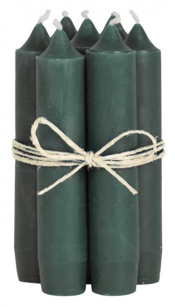 Ib Laursen Stabkerze dunkelgrün einzeln