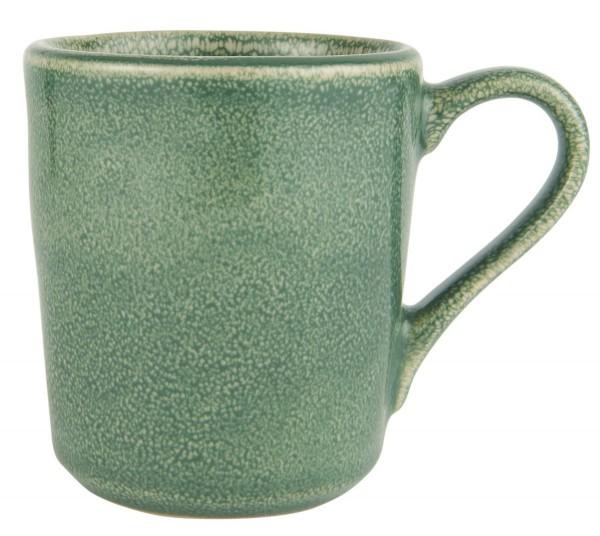 "IB Laursen Tasse Becher ""Green Dunes"" Steingut grün"