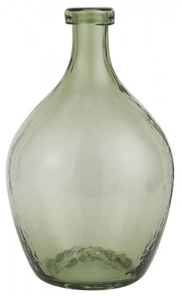 Ib Laursen Glasballon mundgeblasen grün