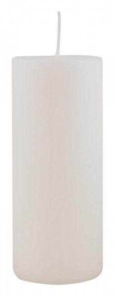 IB Laursen Stumpenkerze Ø 6 cm H: 15 cm weiß