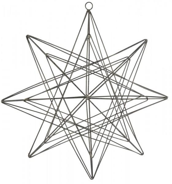 IB Laursen Weihnachten Stern zum Hängen Metall groß