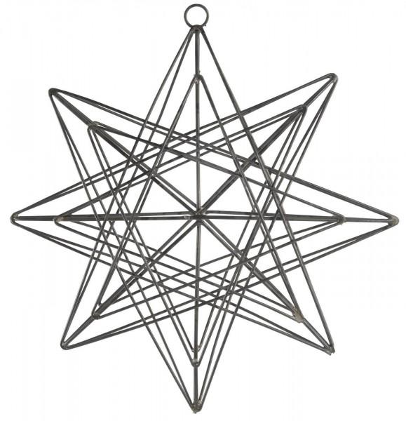 IB Laursen Weihnachten Stern zum Hängen Metall klein
