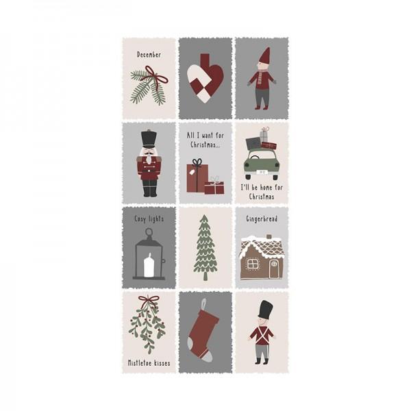 IB Laursen Weihnachten Servietten Nostalgic Christmas 16 Stück