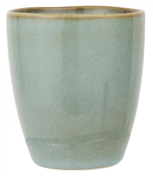 IB Laursen Becher Keramik Light Blue Dunes