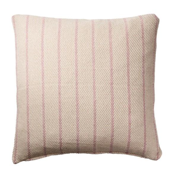 Affari of Sweden Kissenbezug rosa gestreift 50x50 cm recycelte Baumwolle
