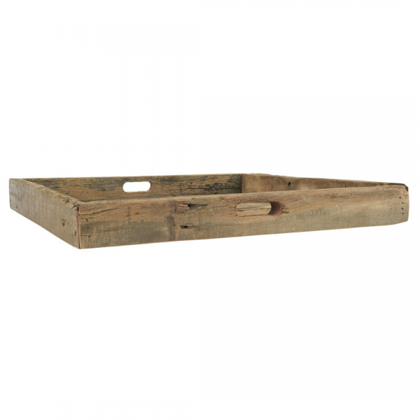 Ib Laursen Holz-Tablett mit Griff UNIKA