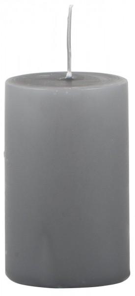 IB Laursen Stumpenkerze dunkelgrau Ø 6 cm