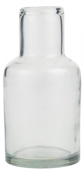 IB Laursen Vase Hals Glas mundgeblasen