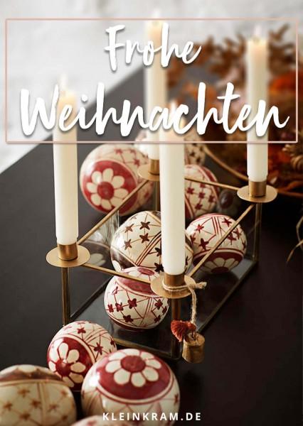 """Kleinkram Geschenkgutschein """"Frohe Weihnachten"""""""