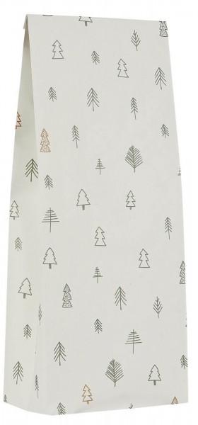 IB Laursen Falttüte Christmas Adventskalender Wald medium