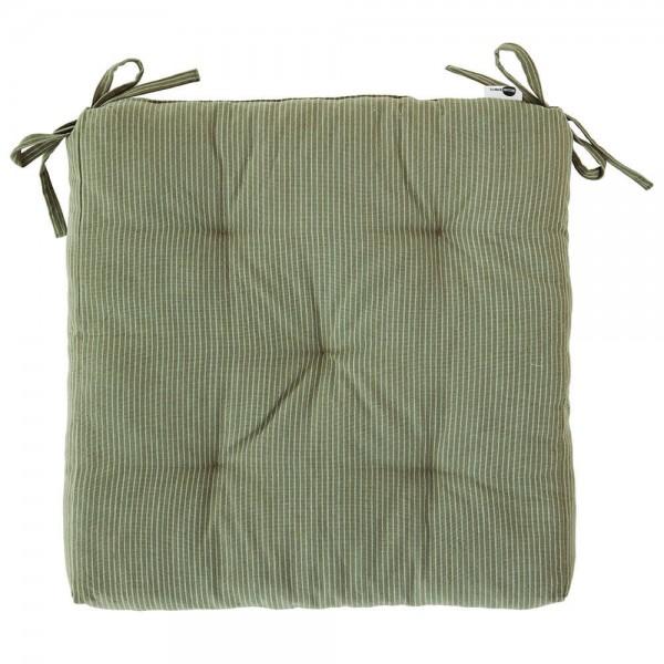 Madam Stoltz Sitzkissen grün 45x45 cm