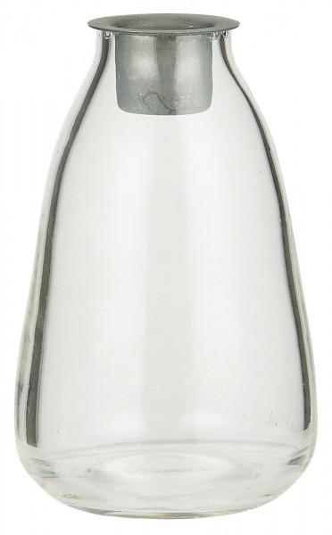 Ib Laursen Flasche mit Kerzeneinsatz Stabkerze