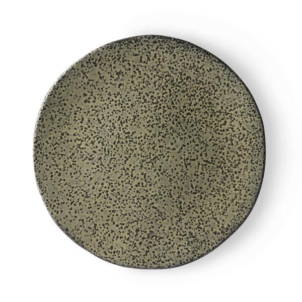 HK Living Gradient Essteller Ø29cm Keramik grün