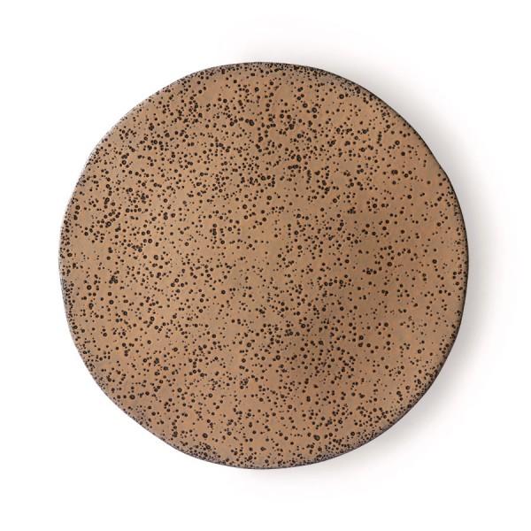 HK Living Gradient Essteller Ø29cm Keramik taupe