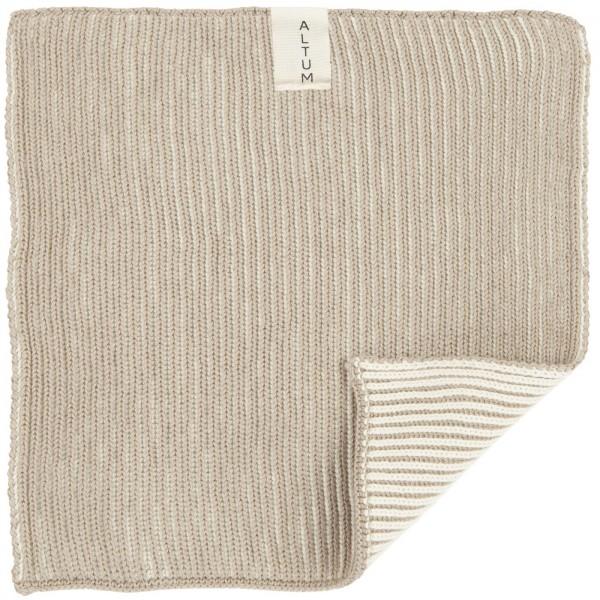 IB Laursen Waschlappen ALTUM gestrickt Baumwolle
