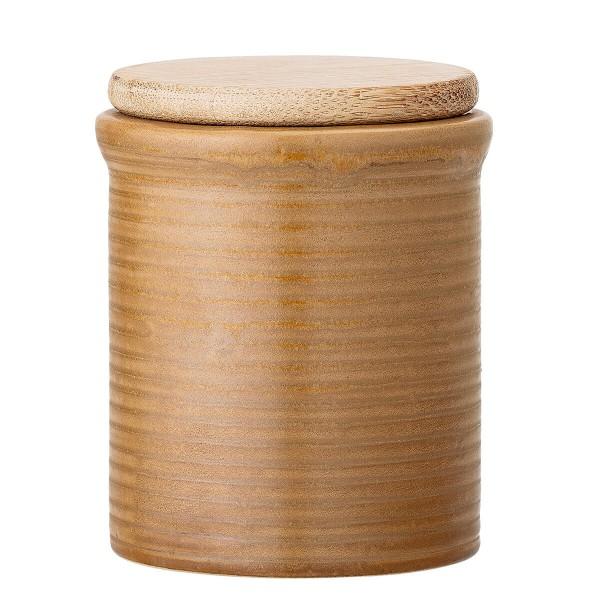 Bloomingville Vorratsdose Steingut braun 150 ml