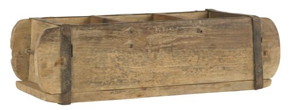 Ziegelform aus Holz zur Aufbewahrung oder als Wandregal mit 3 Fächern von IB Laursen